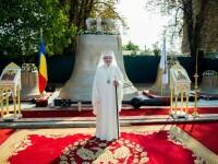 Patriarhul Daniel a sfințit clopotul pe care apare propriul chip, în valoare de aproape jumătate de milion de euro