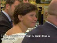 Cum a fost întâmpinată de Macron românca desemnată la conducerea Ministerului Sporturilor