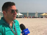 """Administrator de plajă, fericit că s-a terminat sezonul estival: """"La revedere. Vă pup, pa!"""""""