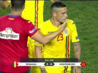 România - Muntenegru 0 - 0, în primul meci din Liga Națiunilor