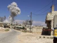 Rusia şi regimul al-Assad au reluat bombardamentele asupra rebelilor din Idlib