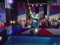 Ninja Warrior România. Doar 10 concurenți au trecut de prima etapă