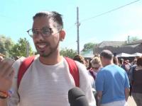 Reacția unui turist englez ajuns pentru prima dată în Deltă, unde a mâncat borș de pește