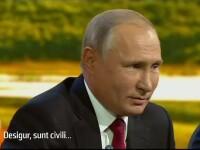 Prima declaraţie a lui Putin despre ruşii acuzaţi de otrăvirea lui Skripal
