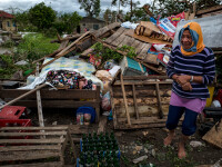 """Dezastru după Taifunul Mangkhut: 14 morți. """"S-a simțit ca și cum era sfârșitul lumii"""""""
