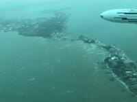 Uraganul Dorian. Insula cu 50.000 de oameni acoperită de ape în proporție de 70%
