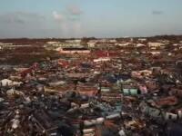 """Distrugeri imense în Bahamas, după uragan. """"Nu ne-a rămas nimic"""". VIDEO din dronă"""