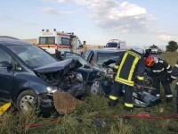 Accident cumplit în Covasna. Mai multe persoane au ajuns la spital