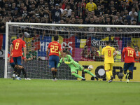 Portarul Tătăruşanu, după meciul cu Spania: