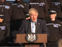 Reacția lui Boris Johnson, când o polițistă leșină în timpul discursului său