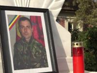 Stefan-Ciprian Polschi, militarul mort în atacul de joi din Kabul, comemorat de colegii săi