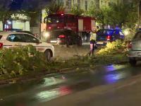 Accident grav în centrul Capitalei. Două persoane au fost rănite