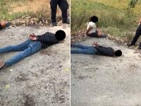 Urmărire cu blocaje și focuri de armă. Doi tineri reținuți după o cursă de 50 de km