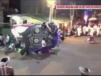 Scene de groază la o ceremonie religioasă. Un elefant a călcat în picioare 18 oameni