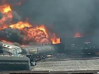 Stare de alertă după ce un tren a luat foc. Mai mulți copii, evacuați din școli