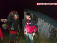 Locul unde s-a refugiat un turist polonez încolțit de o ursoaică, în Munții Rodnei