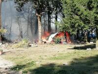 Un F-16 al armatei belgiene s-a prăbușit. Incredibil unde a ajuns pilotul catapultat