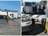 Înșelat de soție cu un șofer ceh, un român a făcut prăpăd într-o parcare din Belgia