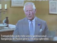 """Moștenitorul tronului Marii Britanii, mesaj pentru România: """"Felicitările mele sincere"""""""
