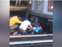 Fetiță de 5 ani, salvată de sub un tren. Plângea după tatăl care tocmai își luase viața