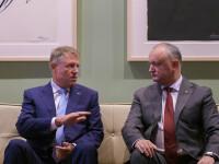 Iohannis s-a întâlnit cu Igor Dodon în SUA. Ce i-a transmis președintelui Moldovei