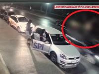 Pieton spulberat de o mașină în timp ce traversa neregulamentar