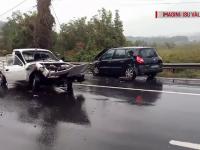 Accidente în lanț, pe DN7. Viteza a făcut mai multe victime pe șosele