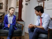 """Justin Trudeau îi dă dreptate Gretei Thunberg: """"Canada nu a făcut suficient pentru mediu"""""""