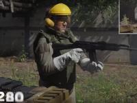 Armă AK-74, distrusă în timpul unui test. Un expert a tras cu ea până a explodat. VIDEO