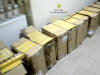 Captură impresionantă de țigări de contrabandă, în Maramureș. Contrabandiștii sunt căutați