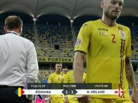 România - Irlanda de Nord, 1-1. Tricolorii ratează dramatic victoria în primul meci din noua ediție a Ligii Națiunilor
