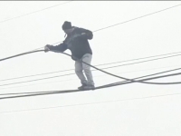 Un hoț a furat 20 de metri de cablu, în mijlocul zilei. Totul s-a întâmplat într-un mare oraș