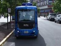 Un autobuz fără șofer este în teste finale în SUA. Sistemul e menit să prevină accidente
