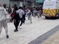 VIDEO. Incident major în Birmingham. Un bărbat a fost ucis și șapte persoane rănite