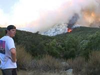 Incendii de vegetație mistuie sudul Californiei. S-au anunțat aproape 48 de grade Celsius