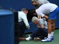 VIDEO. Novak Djokovici a fost descalificat de la US Open. Prima reacție a sârbului