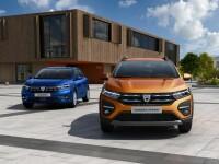 """Primele imagini oficiale cu noile modele Dacia Logan, Sandero și Sandero Stepway. Vin cu un """"design complet nou"""""""