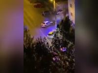 Noi imagini de la urmărirea ca în filme din Iași. Polițiștii au tras 30 de gloanțe ca să prindă un șofer