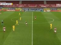 Victorie pentru România, scor 3-2, în meciul cu Austria din Liga Națiunilor. Elevii lui Rădoi ocupă primul loc în grupă