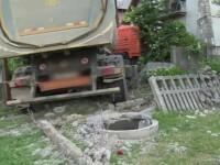 Ciocnire violentă între un camion și un tir în Dâmbovița. Cum s-a produs coliziunea