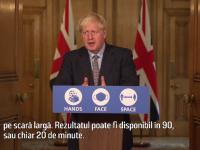 """Planul """"Moonshot"""". Cum vrea Marea Britanie să facă 10 milioane de teste pe zi în 2021"""