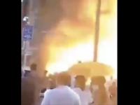 VIDEO. Momentul în care un restaurant din China este mistuit de o explozie devastatoare