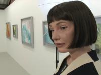 Prima expoziție de pictură realizată de un robot. Ce reacții a primit