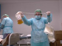 Prea puțini pacienți vindecați de coronavirus donează plasmă. Îndemnul medicilor