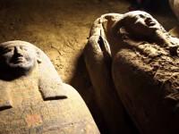 Arheologii au descoperit 13 sicrie misterioase într-o fântână din Egipt. Ce se află în ele. VIDEO
