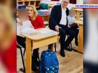 Val de indignare după ce Firea a postat o poză fără mască la școală. Cum a explicat gestul