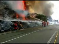 Imagini tulburătoare. Incendiile de vegetație au făcut prăpăd în Spania