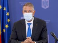Iohannis: Nu ne putem permite o dublă epidemie, de gripă și COVID-19. Nu avem în plan adoptarea de noi restricții