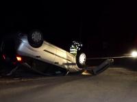 Accident grav pe o șosea din județul Bistrița-Năsăud. Un tânăr de 26 de ani și-a pierdut viața
