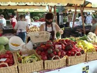 Târg de legume și fructe deschis în acest sfârşit de săptămână la Cluj Napoca